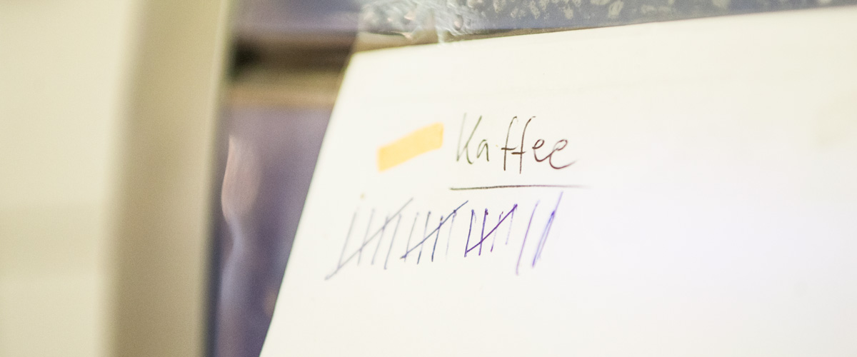 Kaffeekontrolle